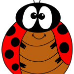 The ladybug was rescued by the singer-songwriter cicada